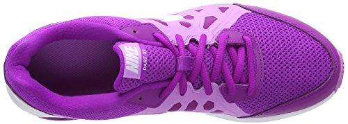 Nike Wmns Dart 11 Scarpe da ginnastica, Donna Morado - Violet (Vivid Purple/Wht-Fchs Glw-Wht)
