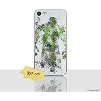 """iPhone 8 Marvel Fankunst Silikonhülle / Gel Hülle für Apple iPhone 8 (4.7"""") / Schirm-Schutz und Tuch / iCHOOSE / Hulk"""
