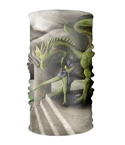 Vidmkeo Bandeau Unisex Fantasy Hydra Quick Dry Microfiber Headwear Outdoor Magic Bandana Neck Gaiter Head Wrap Headband Scarf Face Mask Ultra Soft Elastic Handscarf Outdoor20 - Hydra Perlen