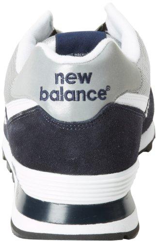 New Balance M574GS Herren Sneaker Blau (Navy with Grey)