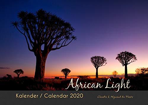 AFRICAN LIGHT 2020 - Afrika Kalender (A3 Querformat): Fotokalender der traumhaften Wildnis Namibias in atemberaubendem Licht.
