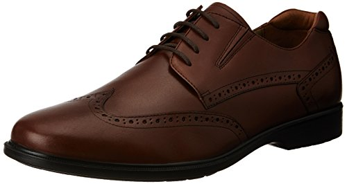 Hush Puppies Men's Hartley Workday Leather Formal Shoes