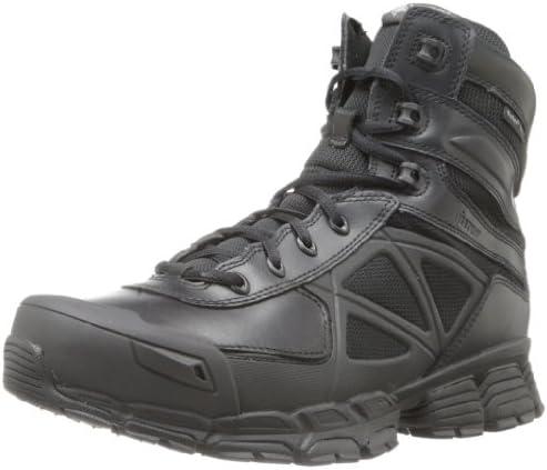 Bates Mens Velocitor Waterproof Zip Leather Boots