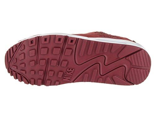 Nike - Wmns Air Max 90 Prem, Wmns Air Max 90 Premium Black Sail Gum Med Brown Donna dark cayenne 601