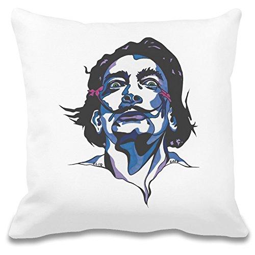 Salvador Dali Portrait Custom Printed Decorative Pillowcase - 100% Soft Polyester - Decorative Home Accessories