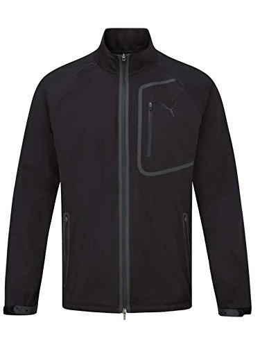 "Puma Herren Golfjacke / Regenjacke ""Storm Jacket"" schwarz (200) L"
