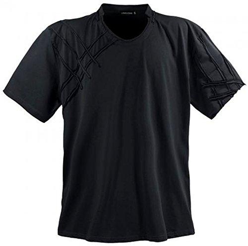 LV 115 Schwarz Lavecchia Herren Übergröße T-Shirt 3-8 XL (4XL)