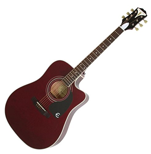 Epiphone Pro-1 Ultra Acoustic/Electric - Wine Red - Acoustic Epiphone Electric Gitarre