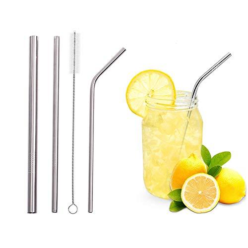 Edelstahl Stroh Farbe Metall Stroh Gruppe Umweltschutz Tube Pearl Milk Tea Straw