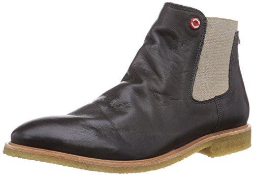 NOBRAND Argan Herren Chelsea Boots Grau (Fossil)