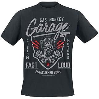 Gas Monkey Garage Fast'n Loud T-Shirt schwarz L