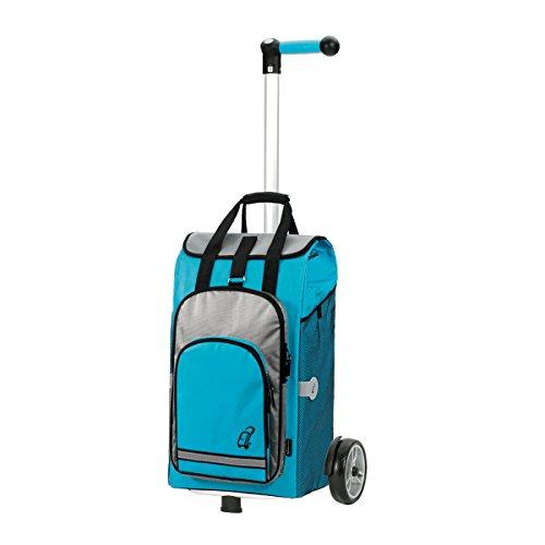 Andersen Shopper Unus und 60 Liter Einkaufstasche Hydro türkis mit Kühlfach