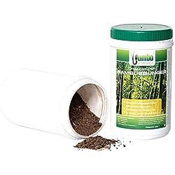 Jumbogras Engrais pour Bambou avec Effet à Long Terme, Engrais 100% Organique pour Toutes Les graminées ornementales, betteraves à graminées et plantations d'herbe (750 g)