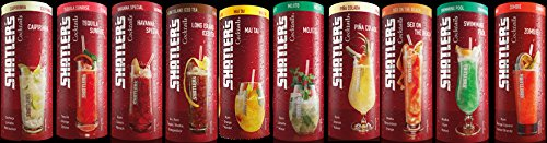 Shatler´s Cocktail Paket (10x0,2l) - Taste the Cocktail - Caipirinha, Tequila Sunrise, Havanna Special, Long Island Ice Tea, Mai Tai, Mojito, Pina Colada, Sex on the Beach, Swimming Pool, Zombie