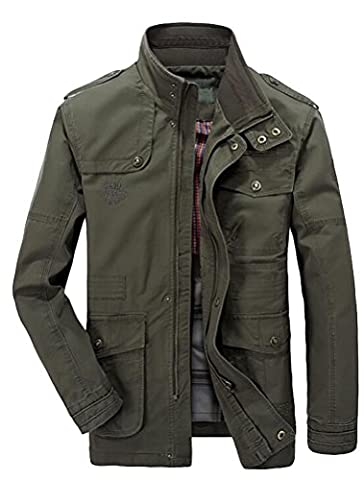 Rich Man Costumes - MatchLife Nouveau Jacket Hommes Style JEEP Col