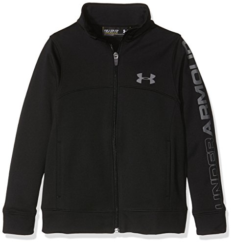 under-armour-pennant-warm-up-jacket-blk-gph-veste-zippe-garon-noir-fr-xl-taille-fabricant-yxl