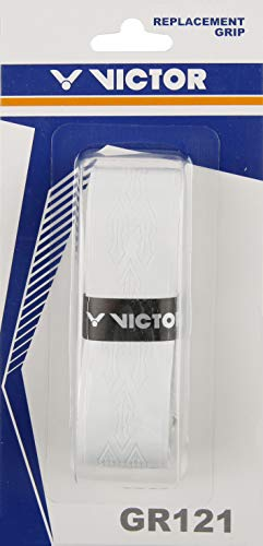 VICTOR Griffband GR121A weiß, geeignet für Badminton und - Victor Griffbänder
