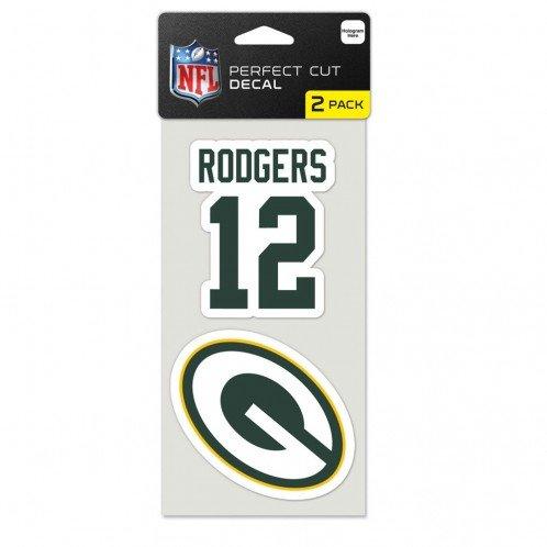 Originales NFL Green Bay Packers Aufkleber-Set