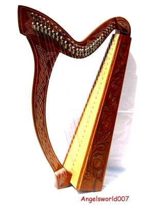 Irisch keltische Harfe 27 Saiten NEU Harp