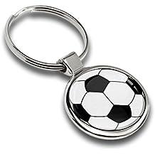 Portachiavi Metallo Pallone Da Calcio Football Regalo Auto Moto Sport Ball Hobby Keychain Keyring K 85