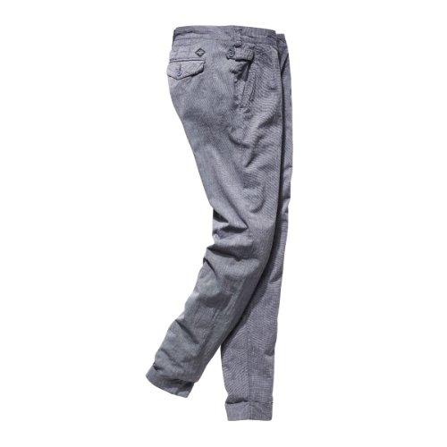 Timezone Pantaloni Donna Vita Regolare, Patricia fashion pants 16-0190 Blu Grigio