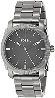 Fossil Mens Quartz Watch, Analog Display and Stainless Steel Strap - FS4774