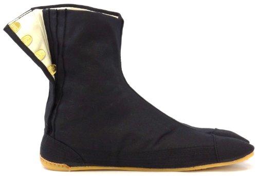 Chaussures de Ninja Confort Semi-montantes Tabi Japonaise Authentique (JP 27 approx. FR 41 EU 41 UK 8)