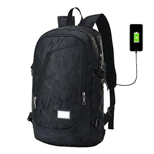 Sac à Dos Usb Rechargeable Outdoor Toile Mode Voyage