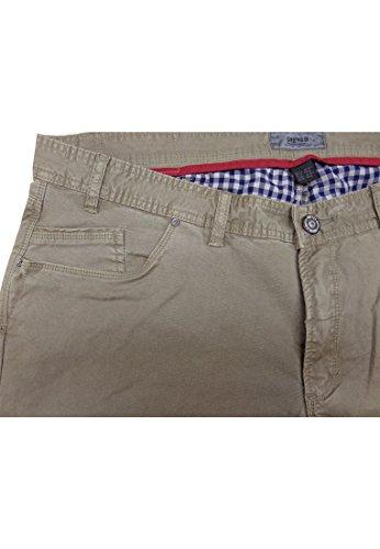 """Greyes Herren Jeans Stretch 35"""" Beige"""
