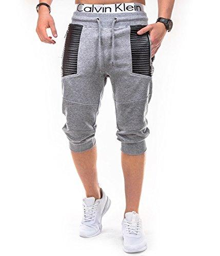BetterStylz -  Pantaloncini  - Uomo Grigio chiaro  X-Large