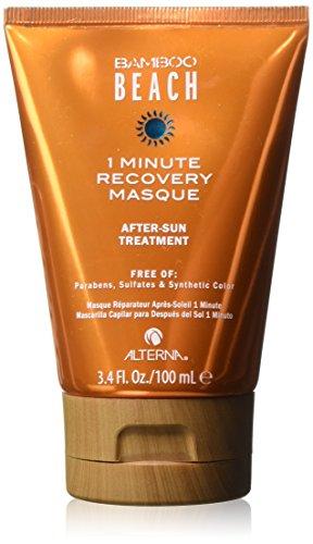 Alterna Bamboo Beach 1-Minute Recovery Masque 100 ml Tiefwirkende, restaurative After-Sun Behandlung (Recovery Auswirkungen)