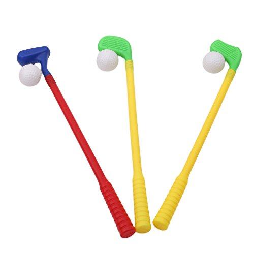 HYhy Kinder Golf Spielzeug Set Sport Hinterhof Garten für Kleinkind Kind Eltern-Kind-Spiele