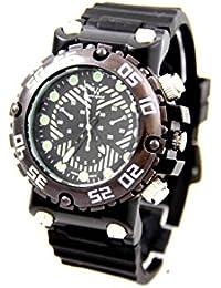 V6 Montre Homme MONTRE2766 - Reloj , correa de silicona color negro