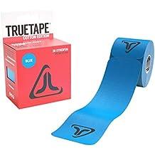 TRUETAPE Cotton Edition elastisches Kinesiologie Tape / Physiotape - 20 vorgeschnittene Streifen 25cm x 5cm