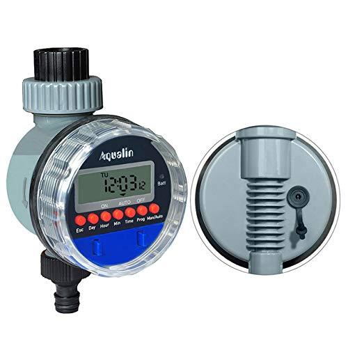 Solar Power Home Garten Auto Wasser Sparende Bewässerung Controller Lcd Digital Bewässerung Timer Garten Werkzeuge Timer Messung Und Analyse Instrumente