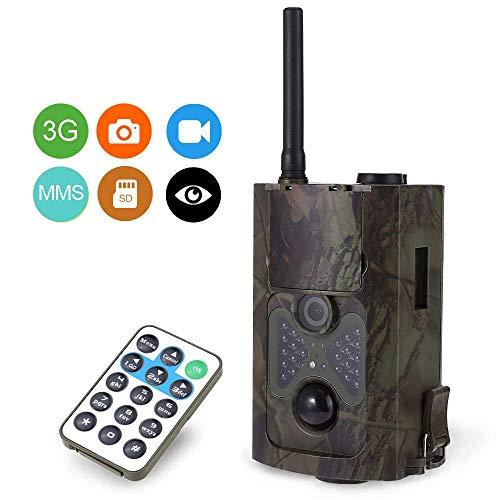 Jagdkamera, Wild Trap Infrared HD 16MP SMS MMS SMTP GPRS 3G 120 Grad Hunter Game Trail Forest Wildlife Camera - Camera Hunter