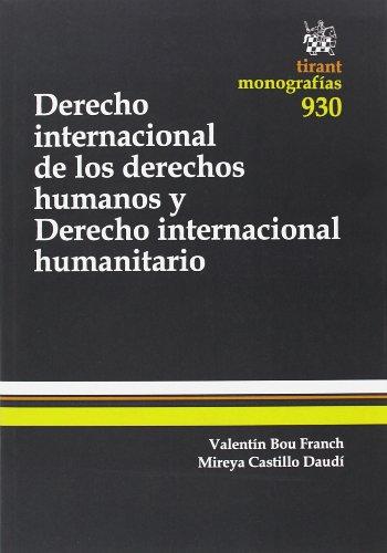 Derecho Internacional de los derechos humanos y Derecho internacional humanitario (Monografías)