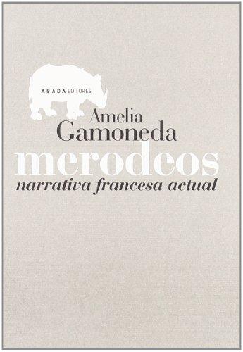 Merodeos Narrativa Francesa Actua (Lecturas de Teoría Literaria) por Amelia Gamoneda Lobón