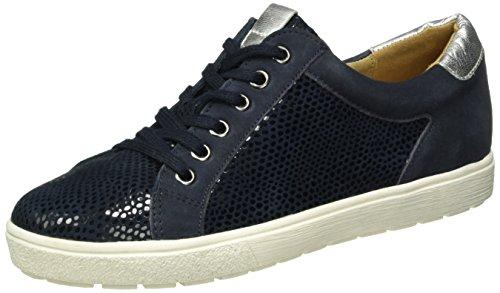 Caprice 23653, Baskets Basses Femme Bleu (Blue Comb 800)