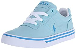 Polo Ralph Lauren Kids Hanford Light B Canvas Fashion Sneaker (Little Kidbig Kid), Light Blue, 12 M Us Little Kid