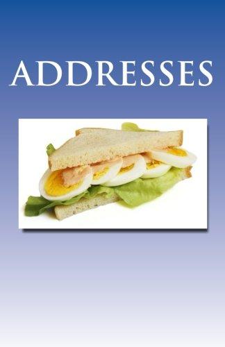 ADDRESSBOOK - Sandwich