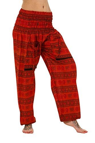 ThaiUK Damen Hose One size Rot