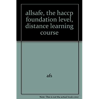 allsafe, the haccp foundation level, distance learning course