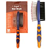 PetSutra Comb Brush for Dogs and Cats, Grooming and Hair Detangling (Large)