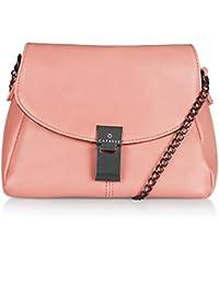 Caprese Nelly Women's Sling Bag (Blush)