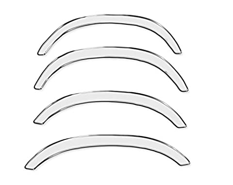 R.S.N. 115 chrome wheel arches , fender trims extensions, cover rust