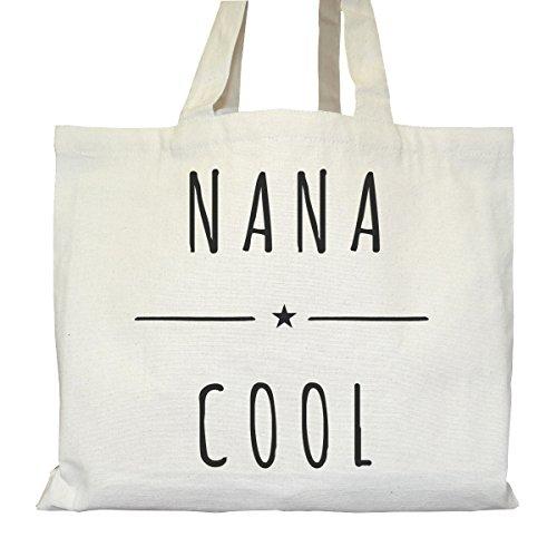 Tote bag Urbain - Soufflet et Poches intérieures - Toile épaisse de coton Bio - Nana Cool