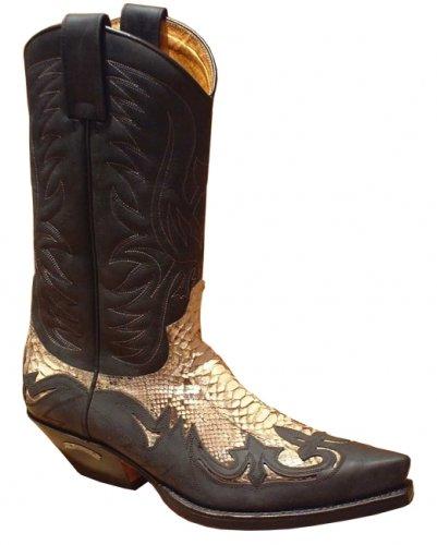 Sendra Boots 3241 schwarz-P. Gr. 45