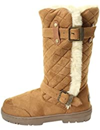 c3f23437f3782 Ella Ladies Womans Brown Black Chestnut Beige Tan Winter Snow Comfy Flat  Ankle Knee Calf High