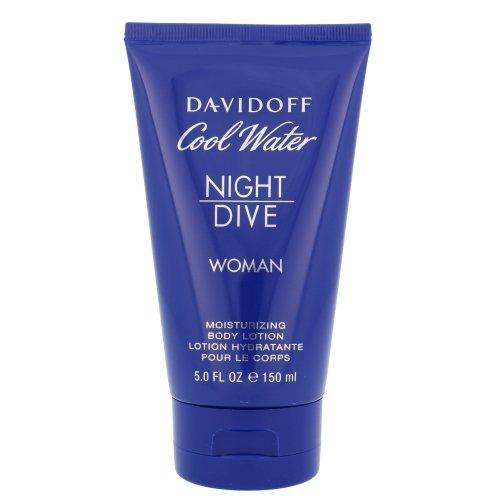 Damen Cool Water (Davidoff Cool Water femme/women, Night Dive Women Moisturizing Bodylotion, 1er Pack (1 x 150 g))